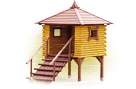 Domek dla dzieci | symbol katalogowy C1