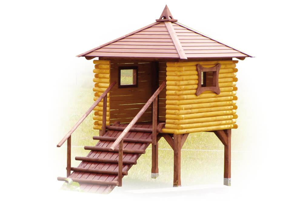 Place zabaw - domek dla dzieci | symbol katalogowy C1