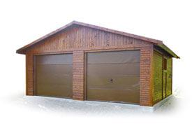 Garaż dwustanowiskowy | symbol katalogowy D15