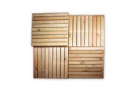 Podest drewniany