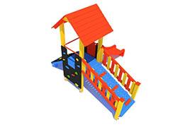 place zabaw dla dzieci z drewna