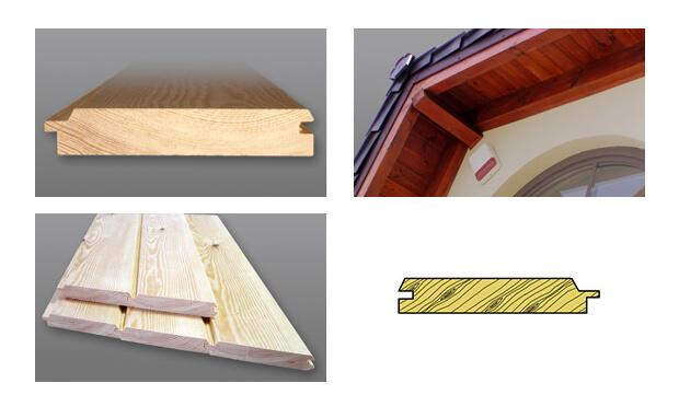 podbitka drewniana